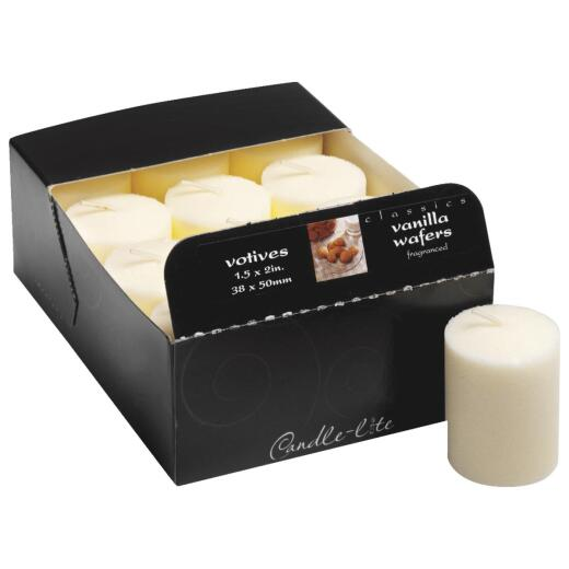 Candle-lite Essentials Classic Vanilla Votive Candle