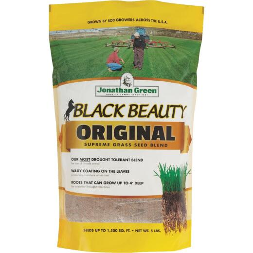 Jonathan Green Black Beauty 5 Lb. 750 Sq. Ft. Coverage 100% Tall Fescue Grass Seed
