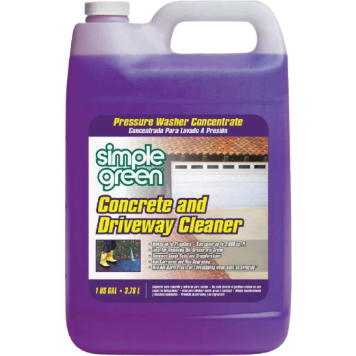 Simple Green 1 Gal. Concrete & Driveway Pressure Washer Concentrate Cleaner
