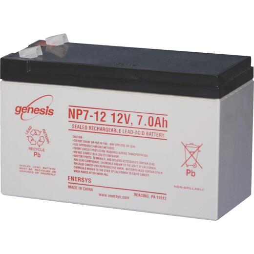Mighty Mule 12V 7A/Hr Gate Opener Battery