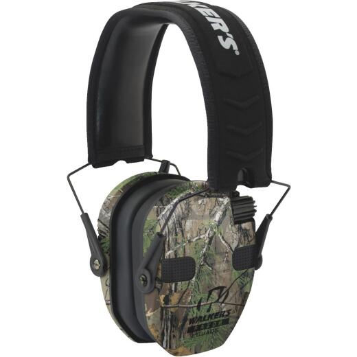 Walker's Razor Series Quad Realtree Xtra Electronic Earmuffs