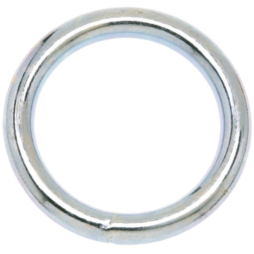 Campbell 1-1/2 In. Nickel-Plated Welded Metal Ring