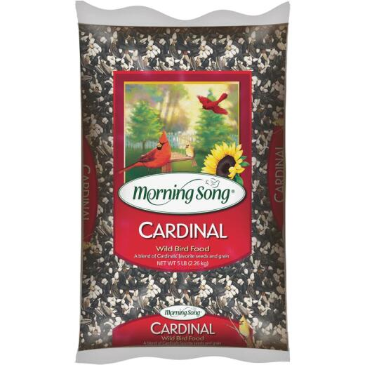 Morning Song 5 Lb. Cardinal Wild Bird Seed