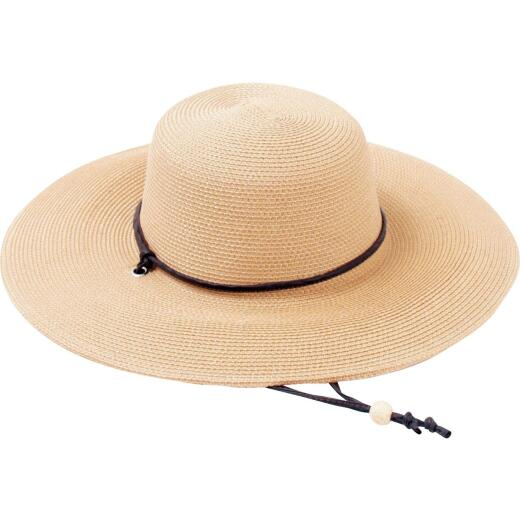Sloggers Women's Light Brown Straw Sun Hat