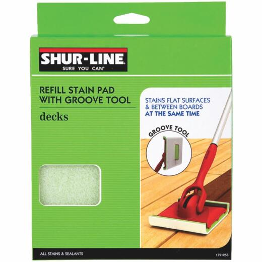 Shur-Line 6.8 In. Replacement Paint Deck Pad