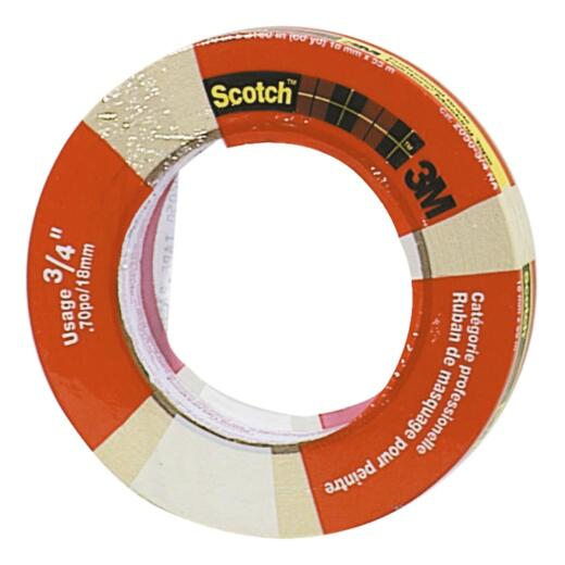 3M Scotch 0.70 x 60.1 Yd. General Painting Masking Tape