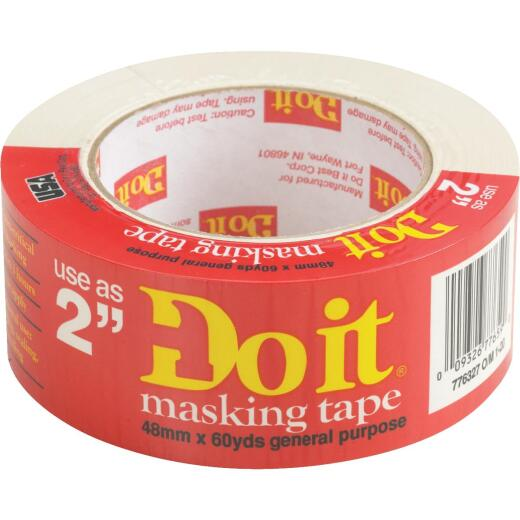 Do it Best 1.88 In. x 60 Yd. General-Purpose Masking Tape
