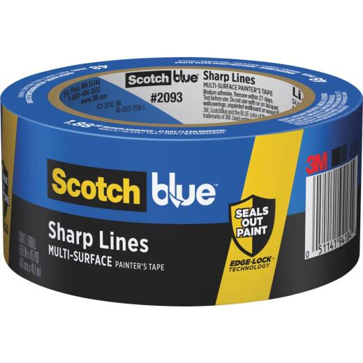 3M Scotch Blue 1.88 In. x 45 Yd. Sharp Lines Painter's Tape