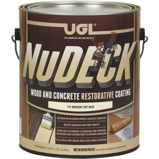 UGL NuDeck 1 Gal. Medium Tint Base Wood & Concrete Restorative Coating