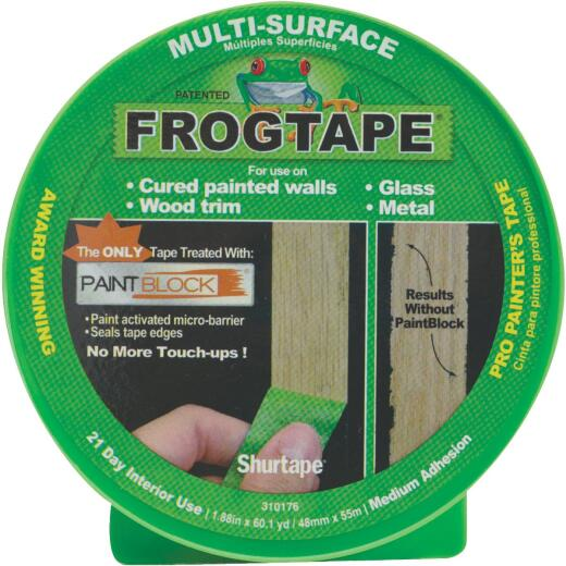 FrogTape 1.88 In. x 60 Yd. Multi-Surface Masking Tape
