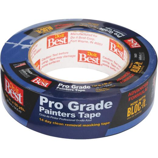 Do it Best Pro Grade 1.41 In. x 60 Yd. Blue Painter's Masking Tape