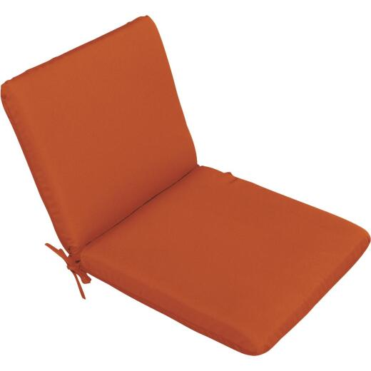 Casual Cushion 19 In. W. x 1.5 In. H. x 36 In. D. Pottery Chair Cushion