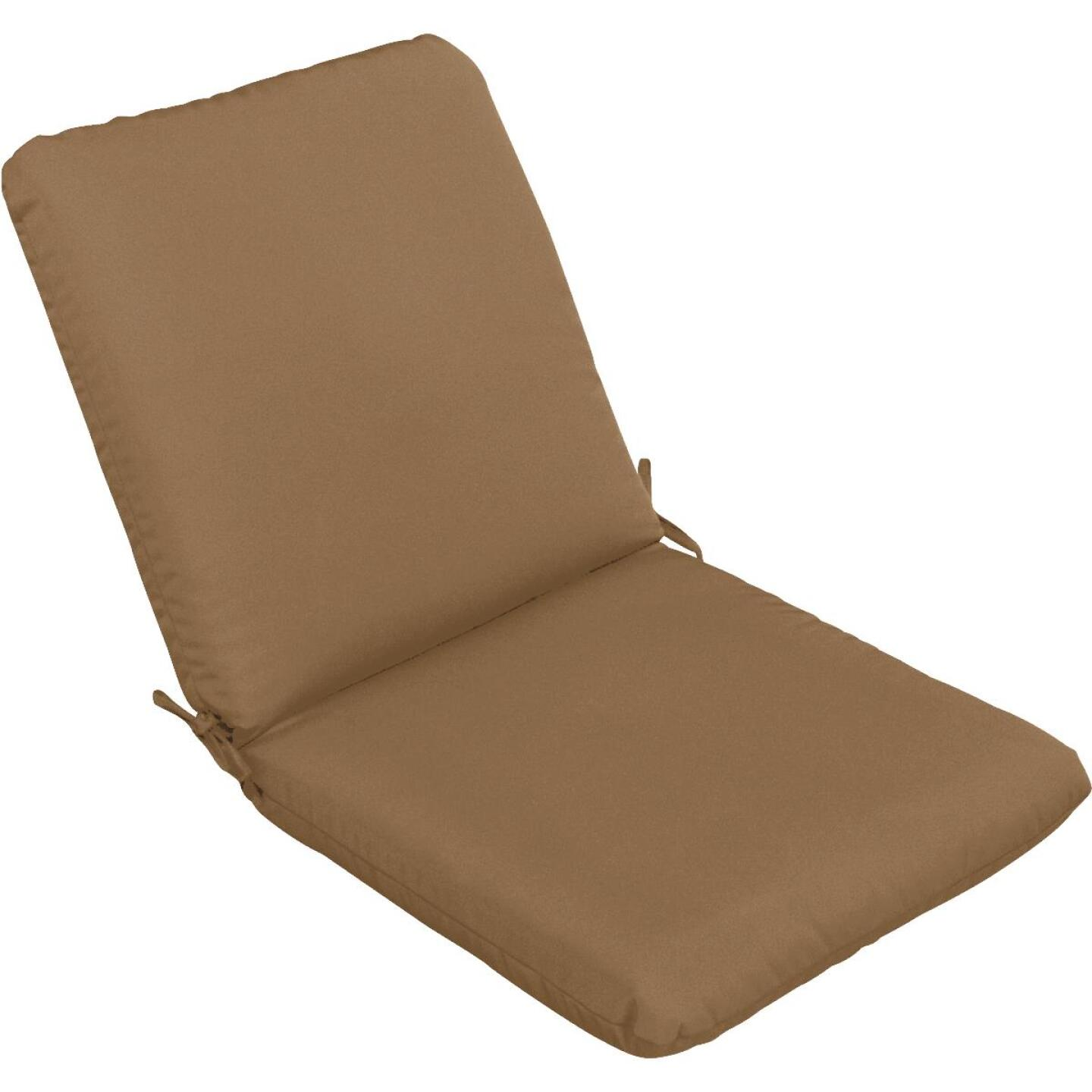 Casual Cushion 23 In. W. x 3.5 In. H. x 44 In. L. Cafe Chair Cushion Image 1