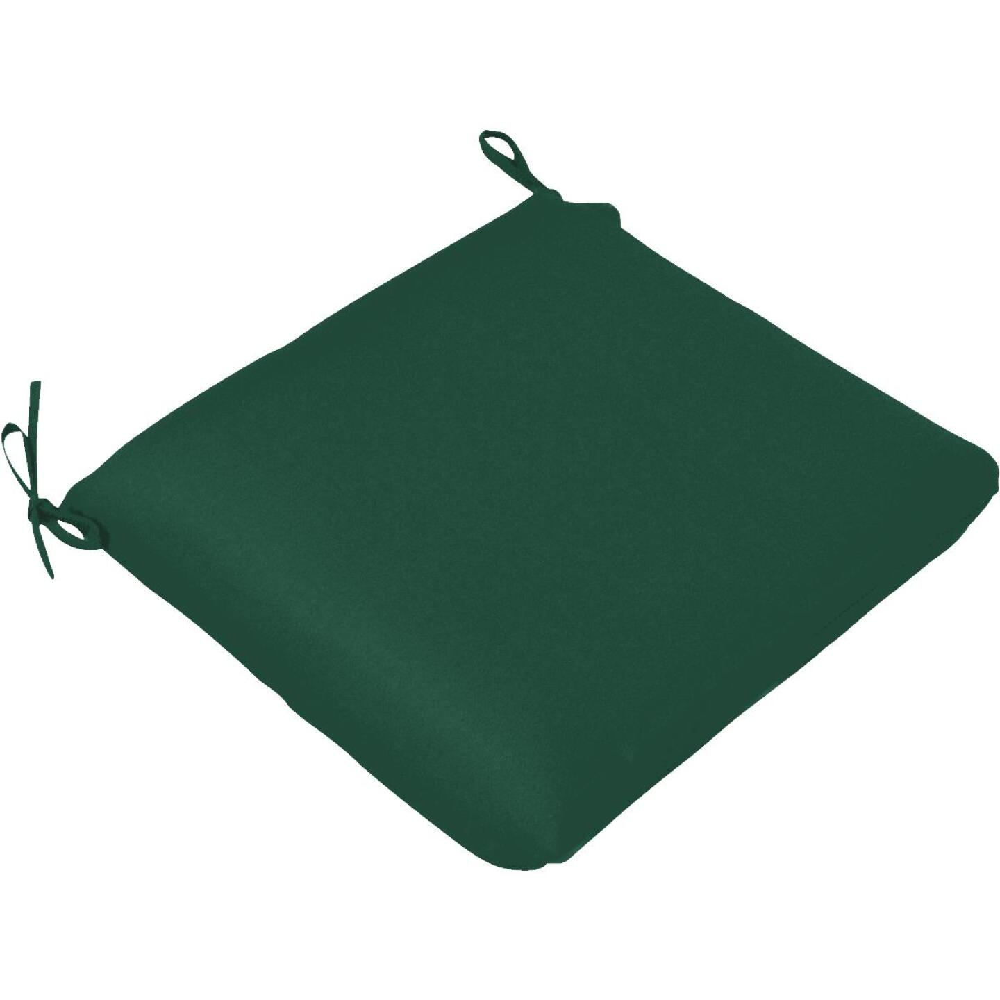 Casual Cushion 19 In. W. x 2 In. H. x 18 In. D. Green Chair Cushion Image 1