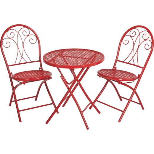 Outdoor Expressions Henry 3-Piece Bistro Set