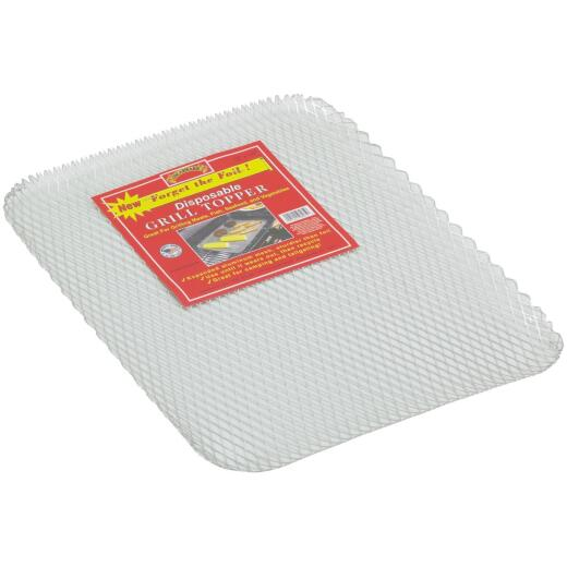 Oscarware Disposable 12 In. W x 16 In. L. Aluminum Grill Topper Tray