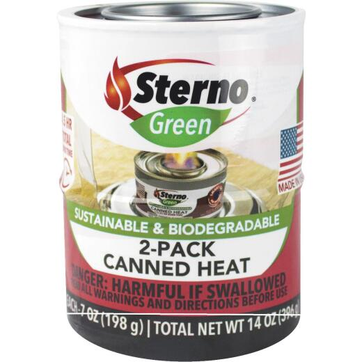 Sterno 12.2 Oz. Gel Canned Cooking Fuel (2-Pack)