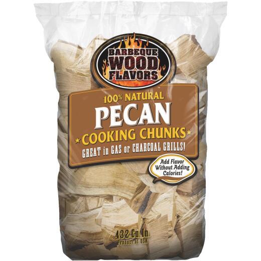 Barbeque Wood Flavors 6 Lb. Pecan Smoking Chunks