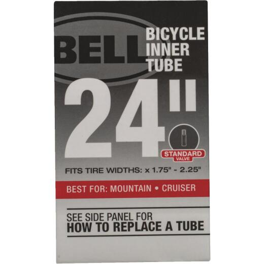 Bell 24 In. Standard Premium Quality Rubber Bicycle Tube