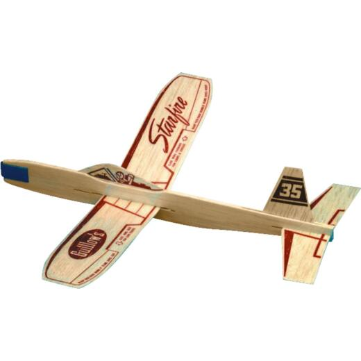 Paul K Guillow Starfire 12 In. Balsa Wood Glider Plane