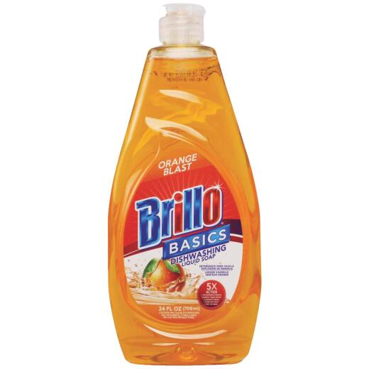 Brillo Basics 24 Oz. Liquid Orange Blast Dish Soap