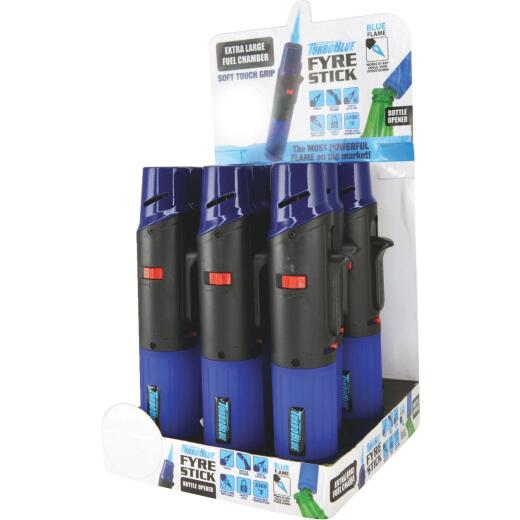 Turbo Blue Fyre Stick Refillable Butane Lighter