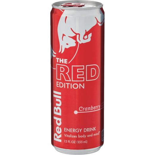 Red Bull 12 Oz. Cranberry Flavor Energy Drink